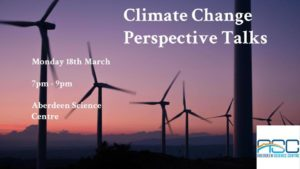 Climate Change Perspective Talks @ Aberdeen Science Centre