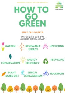 How to Go Green @ Central Library